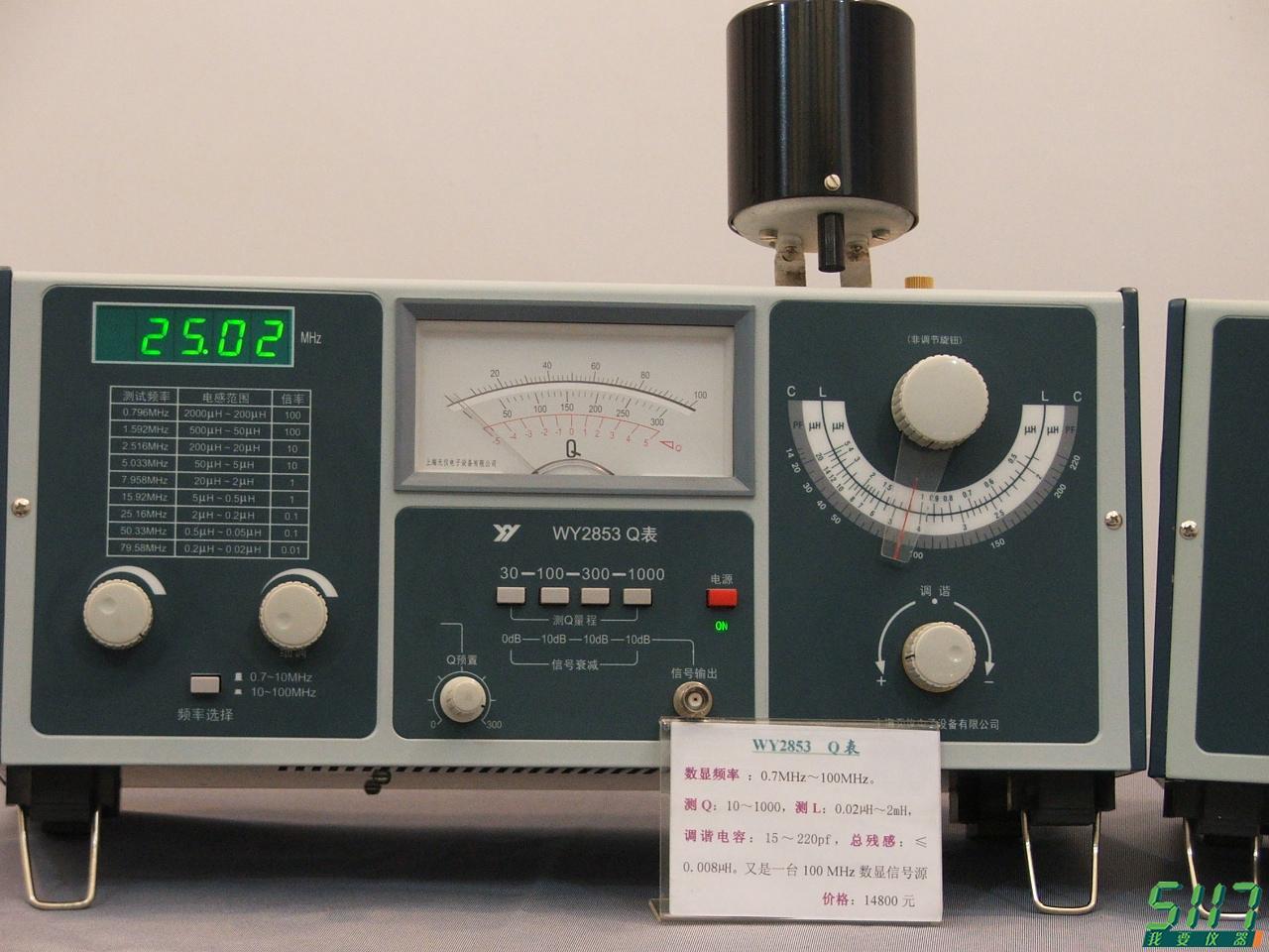 无仪电子展示的多功能信号发生器等产品